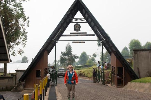 Me at Machame Gate