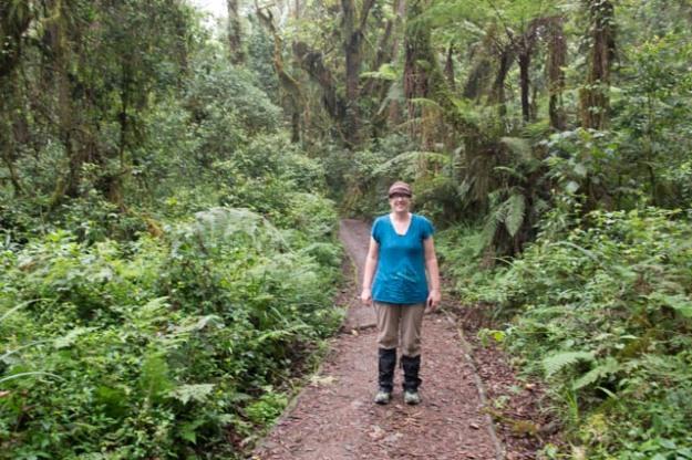 Alyssa O'Mara Day 1 Kilimanjaro Trek