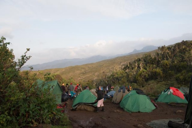 Machame Camp (1st Camp) Kilimanjaro