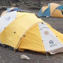 My Tent on Kilimanjaro
