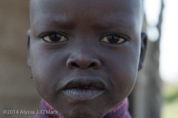 Maasai Girl Close Up- Alyssa O'Mara