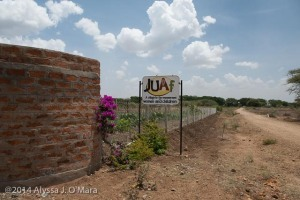 The entrance to JUAf