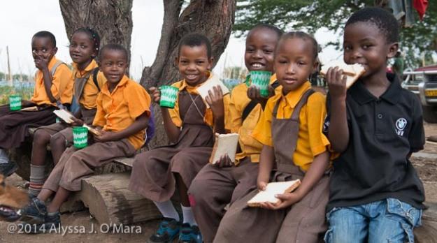JUAf Academy Students